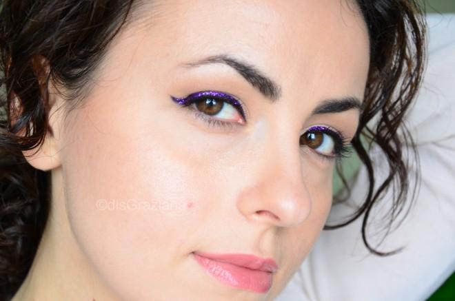 look purple liner